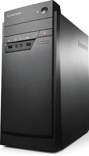 Komputer stacjonarny ThinkCentre E50-00 Tower z pamięcią RAM 4GB, dyskiem twardym HDD 1TB oraz systemem operacyjnym Windows 8.1.