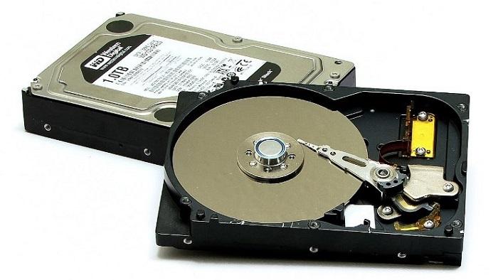 magnetyczny talerzowy dysk twardy HDD
