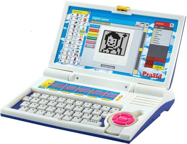 zabawkowy laptop edukacyjny dla dzieci powyżej 3 roku życia